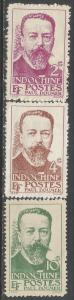 INDOCHINA 253-55 MNG R878