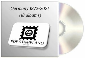 Germany 1872-2021 (18 albums) PDF STAMP ALBUM PAGES