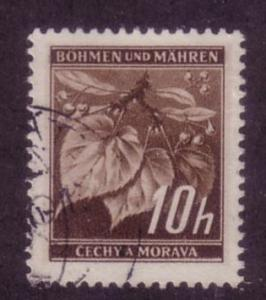 Bohemia & Moravia Sc.# 21 Used