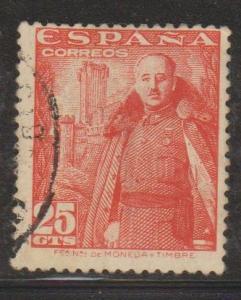 Spain Sc#761 Used
