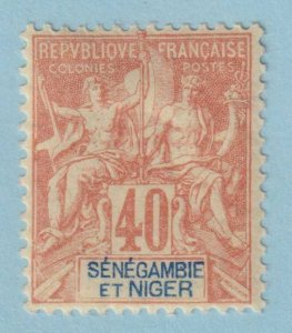 SENEGAMBIA & NIGER  10  MINT HINGED OG *  NO FAULTS VERY FINE!