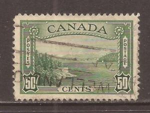 Canada scott #244 used stock #N4599