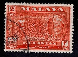 MALAYA Kelantan Scott 85 Used Sultan Yahya Petra stamp