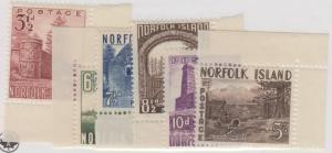 Norfolk Island Set 13-18 Postfrisch Og Kein Fehler Excellenter
