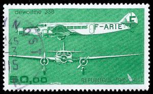 France 1987 Sc C59 UVF