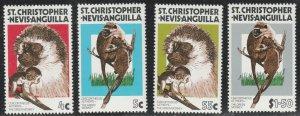 St Christopher Nevis Anguilla #350-353 MNH Full Set of 4