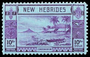 NEW HEBRIDES-BRITISH 61  Mint (ID # 101810)