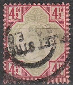 Great Britain #117 F-VF Used CV $42.50 (B1894)