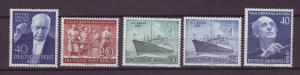 J20690 Jlstamps 1954-5 berlin germany sets & sets of 1 mnh #9n111-5 designs