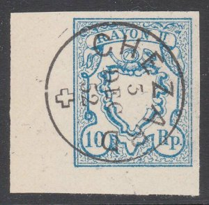 SWITZERLAND  An old forgery of a classic stamp - ...........................B310
