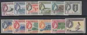 Virgin Islands, Scott 115-126 (SG 149-160), MLH/NH