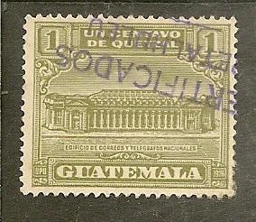 Guatemala         Scott  RA2      Post Office      Used