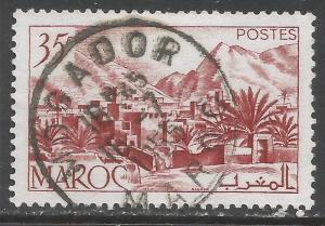 FRENCH MOROCCO 259 VFU Z7318
