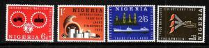 Nigeria-Sc#134-7-unused NH set-Trade Fair-1962-