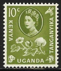 Kenya, Uganda & Tanzania 1960 Scott# 121 MH