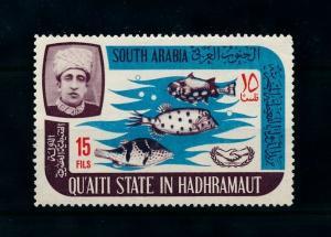 [99606] Aden Qu'aiti State Hadhramaut 1966 Marine Life Fish From Set MNH