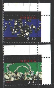 Norway. 1998. 1285-86. Minerals, geology. MNH.