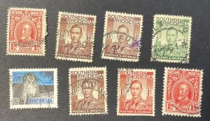Southern Rhodesia 8 Used