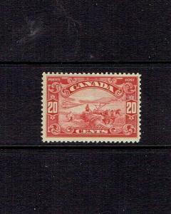 CANADA 1928 TWENTY CENT KING GEORGE V SCROLL ISSUE - SCOTT 157 -  MNH