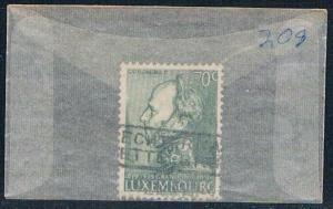 Luxembourg 208 Used William II 1939 (L0275)