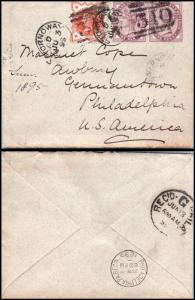 Goldpath: England cover 1899, to U.S.A. _CV15_P9