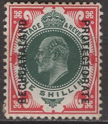Bechuanaland Protectorate; 1912: Sc. # 79; *+/MLH Single Stamp