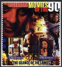 Turkmenistan 2002 Legendary Movies of the '90's - Silence...
