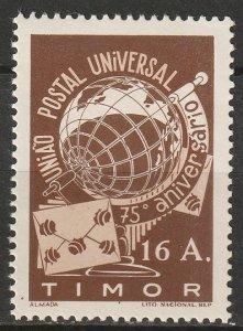 Timor 1949 Sc 255 MH*