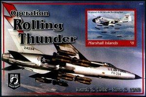 HERRICKSTAMP NEW ISSUES MARSHALL ISLANDS Vietnam War S/S