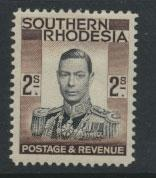 Southern Rhodesia  SG 50   Mint  Hinged