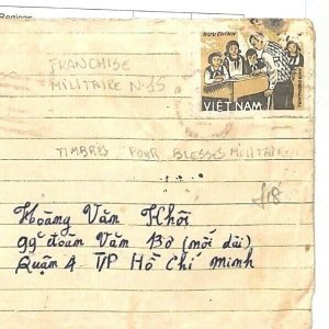 VIETNAM Cover Military Ho Chi Minh City *Phuong Dong* 1985 {samwells-covers} GJ3