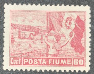 DYNAMITE Stamps: Fiume Scott #52 – UNUSED