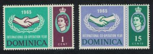 Dominica ICY 2v SG#185-186