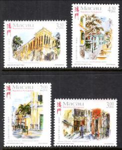 Macau 957-960 MNH VF