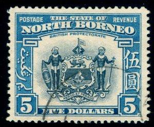 MOMEN: NORTH BORNEO SG #317 1939 USED LOT #60130