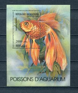 Madagascar  Souvenir Sheet Fish MNH g2169hs