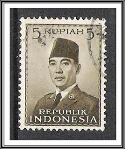Indonesia #393 President Sukarno Used