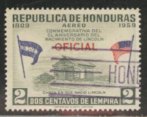 Honduras  Scott Co99 Used Official Airrmail