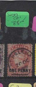ST HELENA  (P0705BB)  QV  1D      SG  27  SON  CDS    VFU