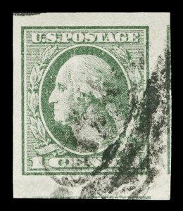 Scott 531 1920 1c Washington Offset Used VF Jumbo Cat $12