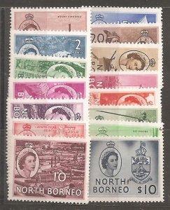 North Borneo  SC  261-75  Mint Never Hinged