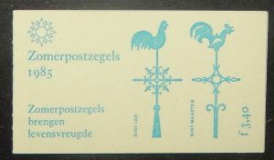 Netherlands B614a. 1985 Religious Architecture unexploded booklet, NH