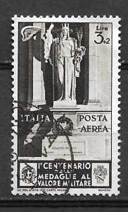 COLLECTION LOT OF #517 ITALY # C72 1934 CV=$47.50