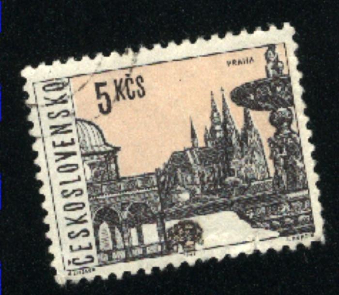 Czechoslovakia 1353   used 1965-66 PD