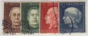 Germany #B338-41   Used VF- Lakeshore Philatelics