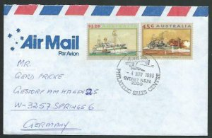 AUSTRALIA 1993 cover to Germany - nice franking - Sydney pictorial pmk.....12805