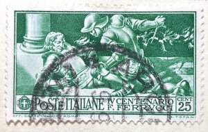 AlexStamps ITALY #243 SUPERB Used