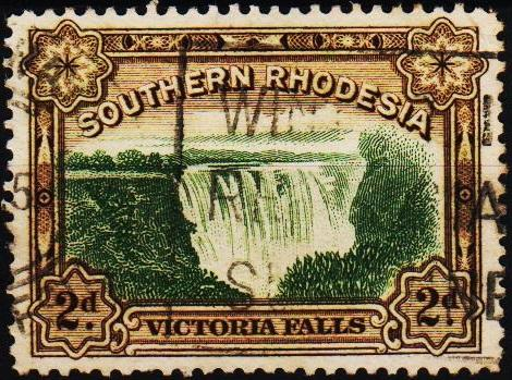 Southern Rhodesia. 1932 2d S.G.29 Fine Used