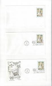 United Nations U6 Postal Stationery,  Mint, Fleetwood & No Cachet