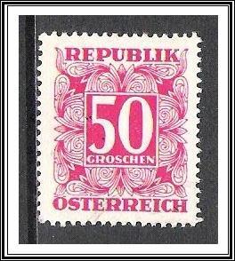 Austria #J241 Postage Due Used